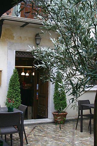 Entrance to Spirito Divino