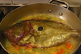 San Pietro, one ugly fish