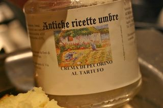 Crema di Pecorino al tartufo
