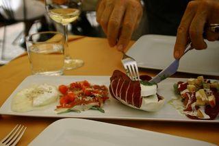 Antipasto all Osteria Piazzetta