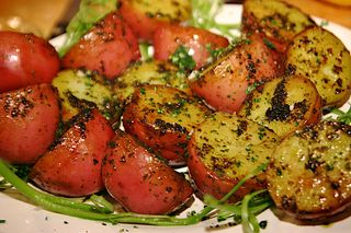 Brown Butter Parsley Potatoes