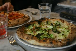 Brussel sprout pizza Motorino