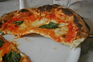 Thin in the middle Motorino Pizza