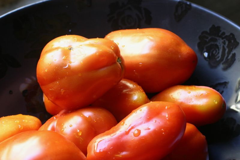 Bowl of San Marzano Tomatoes