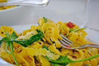 Rucoal con gorgonzola