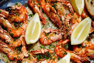 Broiled Herb Shrimp