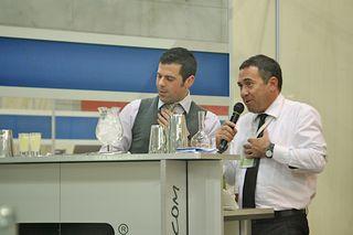 Agostino Perrone and Don Costa