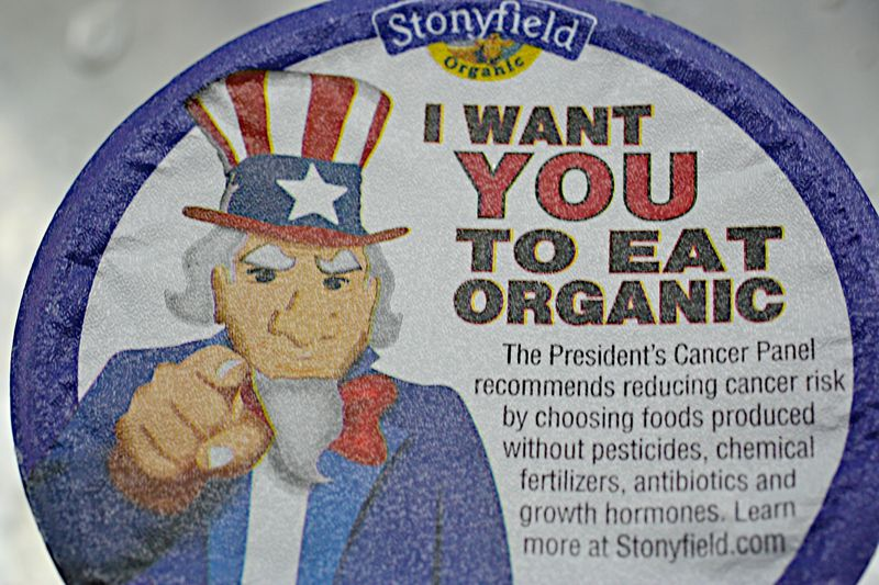 I want you to eat organic
