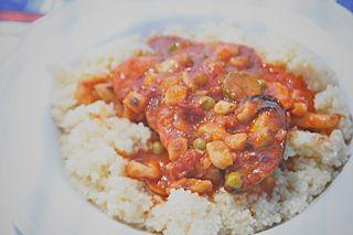 Seafood Sicilian CousCous