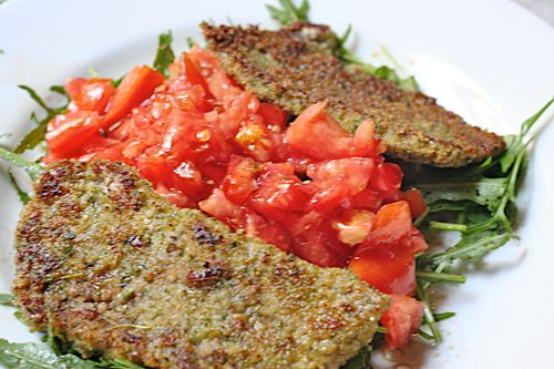 Herbed Veal Milanese