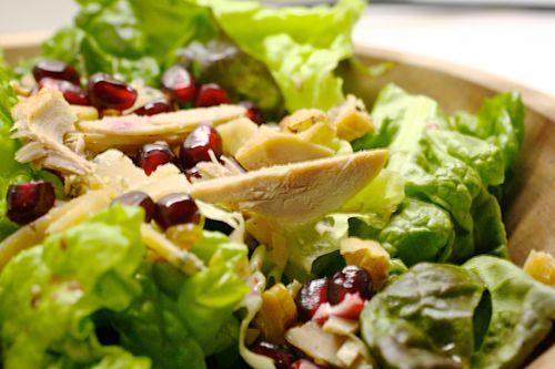 Roast Quail Salad