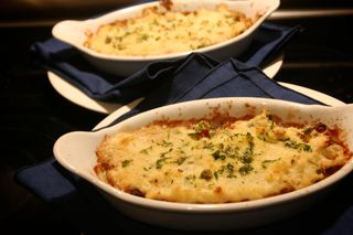 Tri Tip Horseradish Shepherds Pie