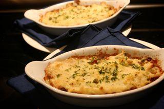 Tri Tip Horseradish Shepherds Pie