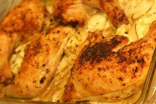 Crispy Chicken Paprika