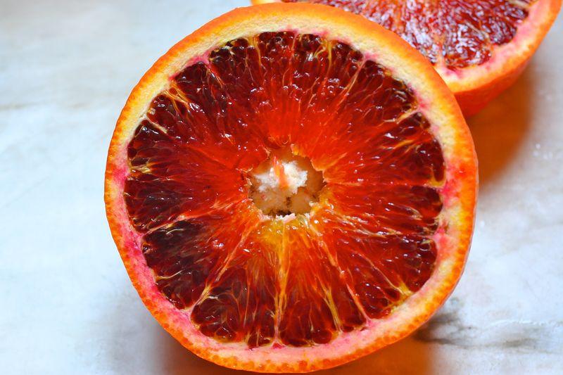 Half blooded Tarocco orange