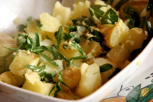 Potatoes & Arugula