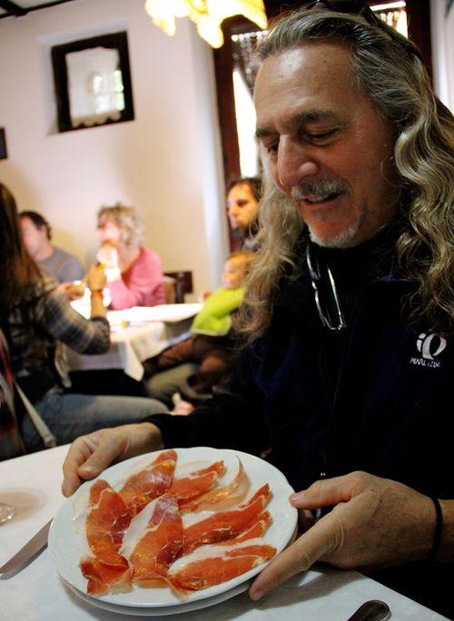 A Plate of Prosciutto