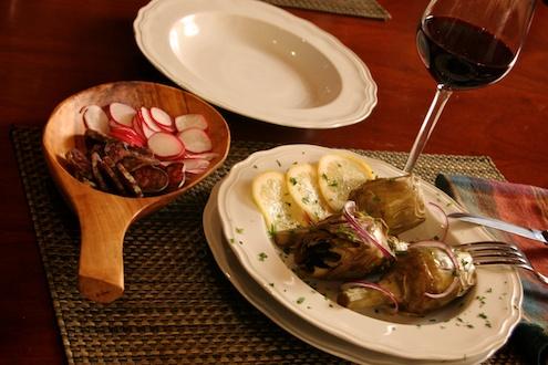 Artichoke Dinner