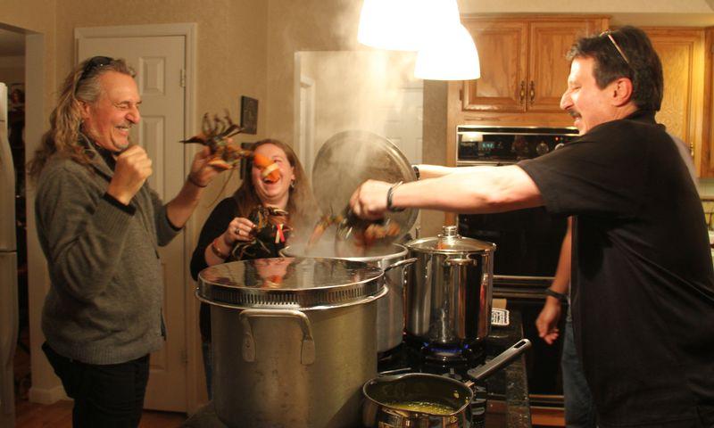 Cooking Lobsters