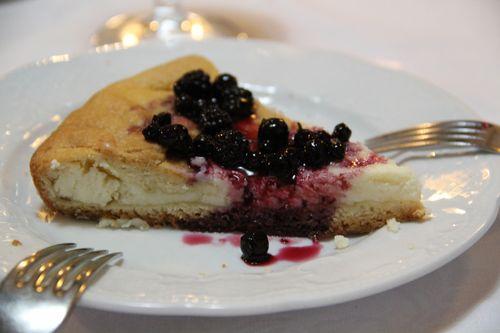 That cheesecake