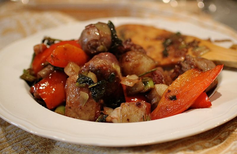 Sausage and Peppers (1)