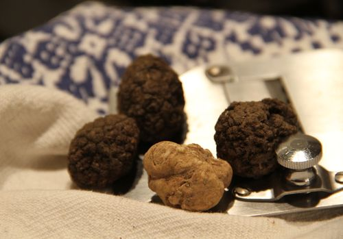 Black & white truffles