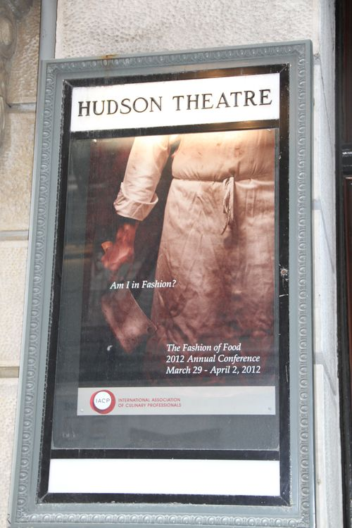 Hudson Theater Marquee