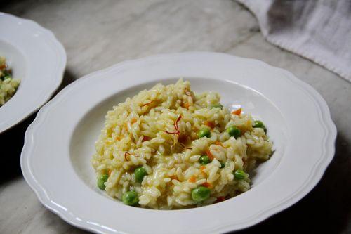 Celery & Saffon Risotto