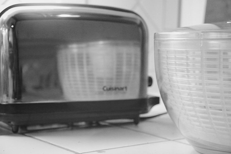 Toaster & A Salad Spinner