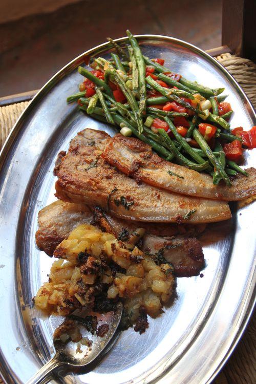 Rustic Pancetta Lunch