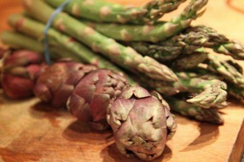 Artichokes Asparagus