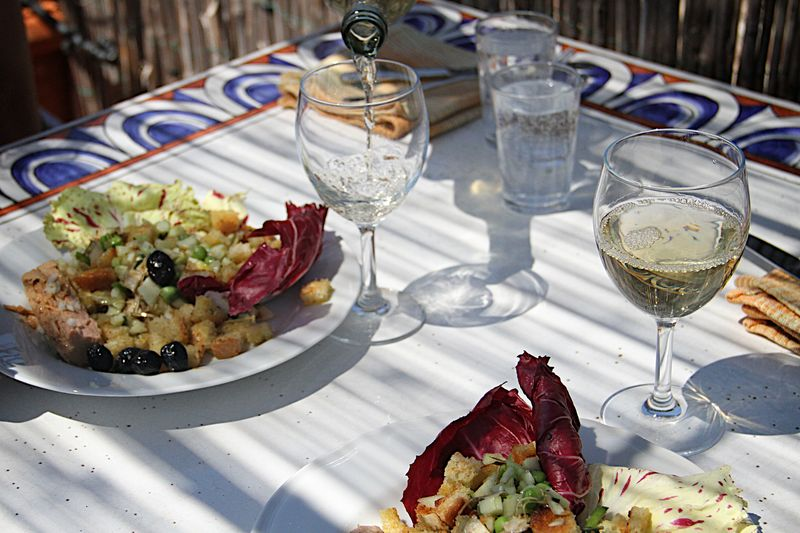 First Lunch on the Roof (1)