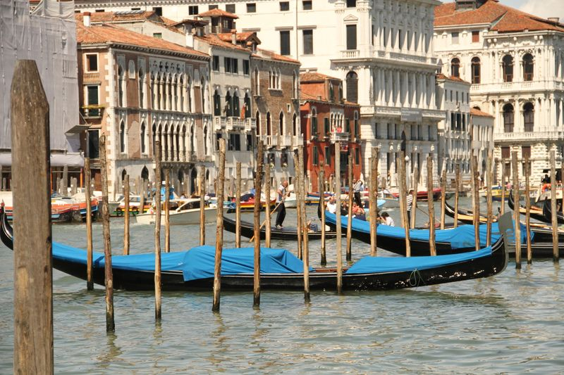 Gondole on the Grand Canal