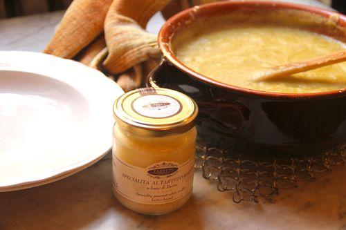 Truffled Asparagus Soup