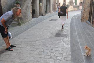 Niccolino in the street