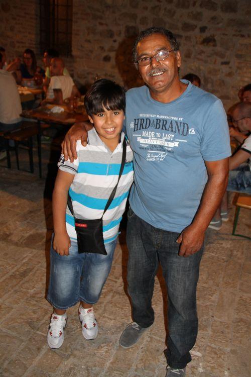 Adam & his dad