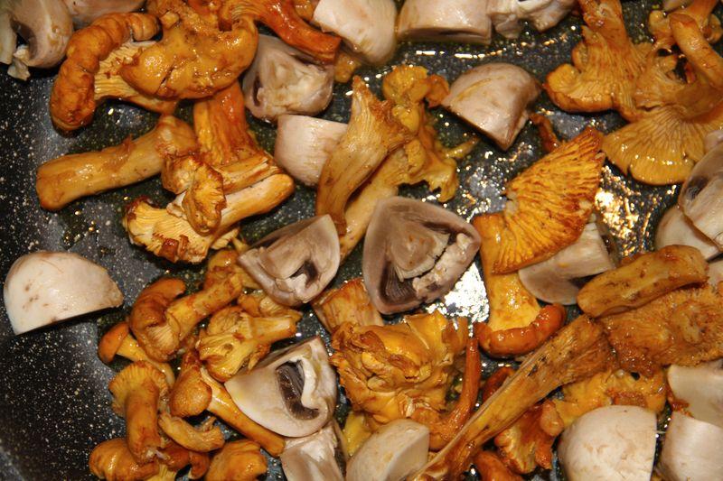 Swimming mushrooms